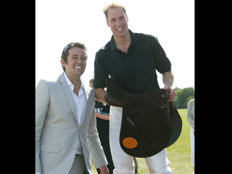 greg secker with prince william